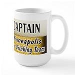 Minneapolis Beer Drinking Team Large Mug