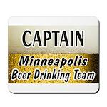 Minneapolis Beer Drinking Team Mousepad