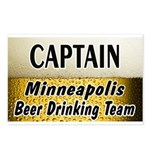 Minneapolis Beer Drinking Team Postcards (Package