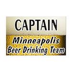Minneapolis Beer Drinking Team Mini Poster Print