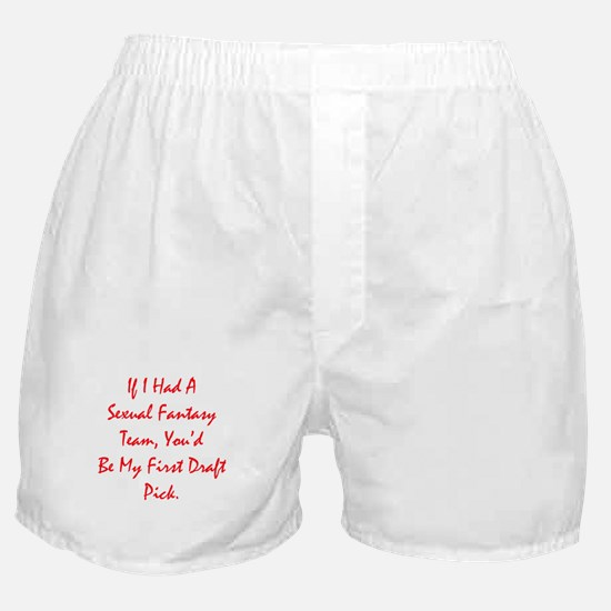 Sexual Fantasy Team Boxer Shorts