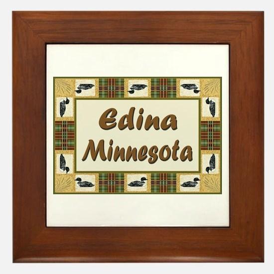 Edina Loon Framed Tile