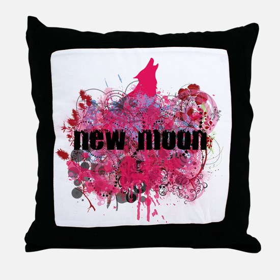 NEW MOON! Throw Pillow
