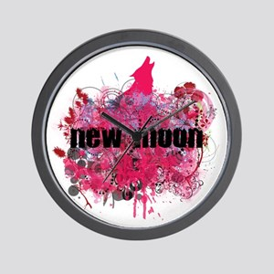 NEW MOON! Wall Clock