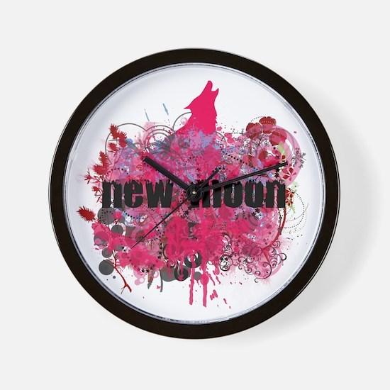 NEW MOON! Wall Clock