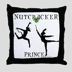 The Nutcracker Prince Throw Pillow