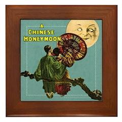 Chinese Honeymoon Framed Tile