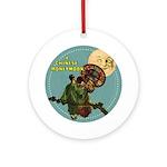 Chinese Honeymoon Ornament (Round)