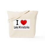 I Love Lake Minnetonka Tote Bag