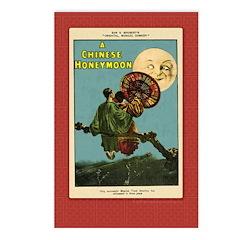 Chinese Honeymoon Postcards (Package of 8)