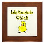 Lake Minnetonka Chick Framed Tile