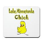 Lake Minnetonka Chick Mousepad
