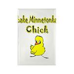 Lake Minnetonka Chick Rectangle Magnet (100 pack)