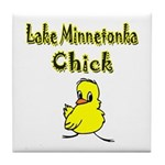 Lake Minnetonka Chick Tile Coaster