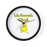 Lake Minnetonka Chick Wall Clock