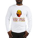 Oba-Mao Tse-Tung Long Sleeve T-Shirt