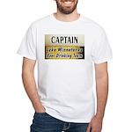 Lake Minnetonka Beer Drinking Team White T-Shirt