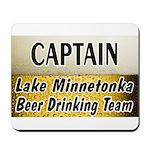 Lake Minnetonka Beer Drinking Team Mousepad