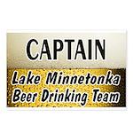Lake Minnetonka Beer Drinking Team Postcards (Pack