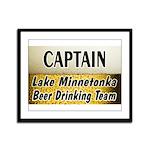 Lake Minnetonka Beer Drinking Team Framed Panel Pr