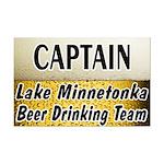 Lake Minnetonka Beer Drinking Team Mini Poster Pri