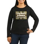Lake Minnetonka Loon Women's Long Sleeve Dark T-Sh