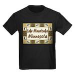 Lake Minnetonka Loon Kids Dark T-Shirt