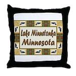 Lake Minnetonka Loon Throw Pillow