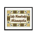 Lake Minnetonka Loon Framed Panel Print