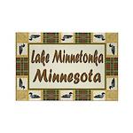 Lake Minnetonka Loon Rectangle Magnet
