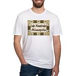 Lake Minnetonka Loon Fitted T-Shirt