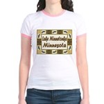 Lake Minnetonka Loon Jr. Ringer T-Shirt