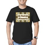 Lake Minnetonka Loon Men's Fitted T-Shirt (dark)