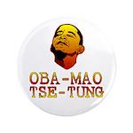 "Oba-Mao Tse-Tung 3.5"" Button (100 pack)"