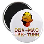 "Oba-Mao Tse-Tung 2.25"" Magnet (100 pack)"