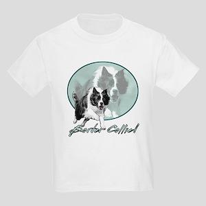 Border Collie Drive Kids Light T-Shirt