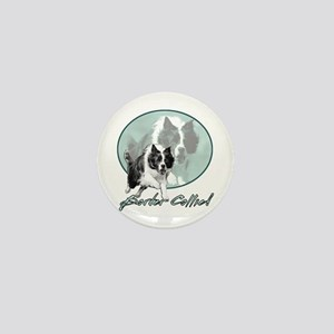 Border Collie Drive Mini Button