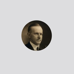 Calvin Coolidge Mini Button