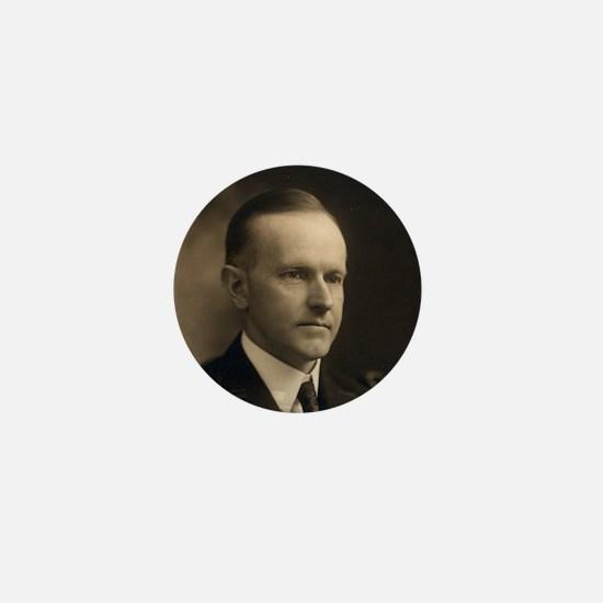 Calvin Coolidge Mini Button