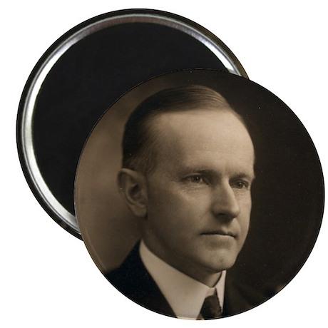 "Calvin Coolidge 2.25"" Magnet (10 pack)"