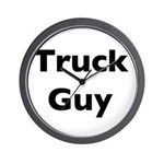 Truck Guy Wall Clock
