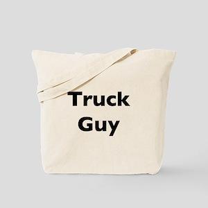 Truck Guy Tote Bag