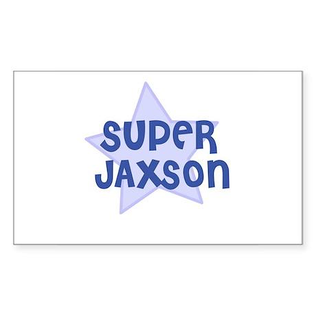 Super Jaxson Rectangle Sticker