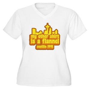 eae926c29bb56b Vedder Women s Plus Size T-Shirts - CafePress