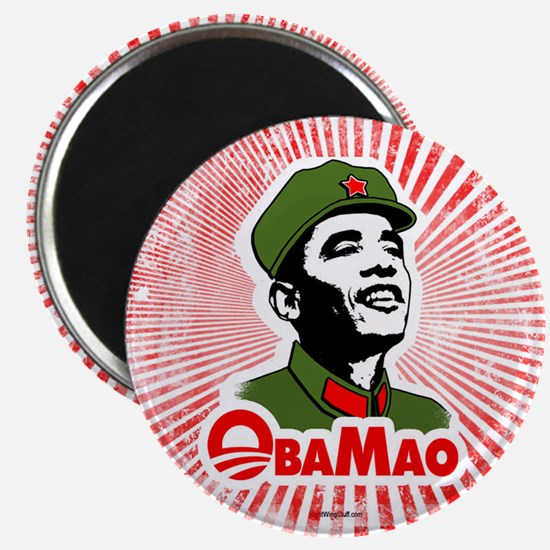 """ObaMao 2.25"""" Magnet (10 pack)"""