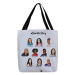 #shareherstory 2019 Polyester Tote Bag