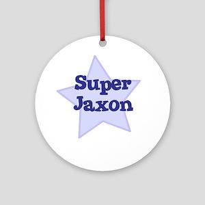 Super Jaxon Ornament (Round)
