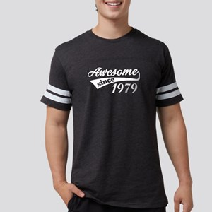 Awesome Since Birth Year 1979 Birthday Gif T-Shirt