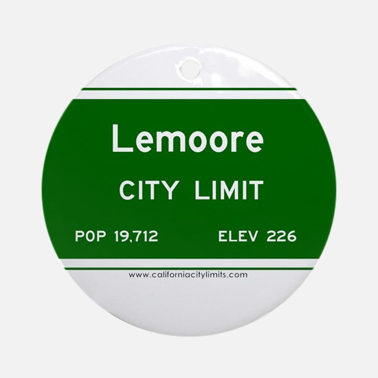 Lemoore Ornament (Round)