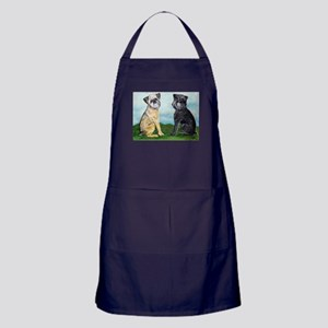 Brussels Griffon Best Friends Apron (dark)